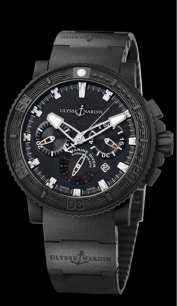 Ulysse Nardin Black Sea Chronograph 353-92-3C – Exclusive ...
