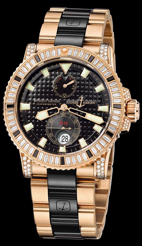 купить духи часы ulysse nardin marine diver 43 mm gold оригинал должен