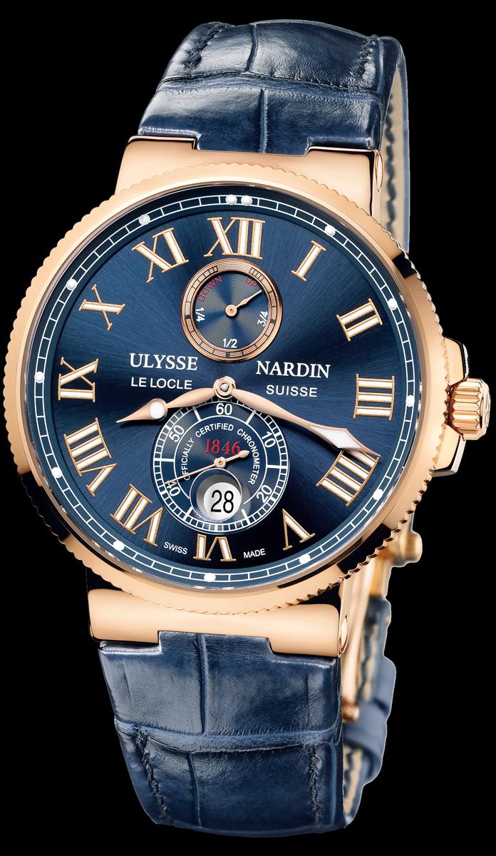 просто часы ulysse nardin maxi marine chronometer 43mm выбору