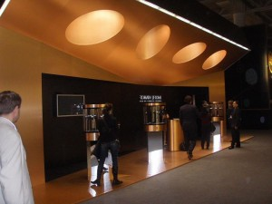 Romain Jerome Booth in Basel, Switzerland, 2010