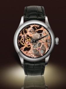 Tavannes Skeleton Rose with Black Chapter