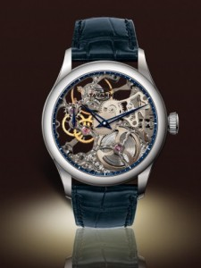 Tavannes Skeleton Grey with Blue Chapter