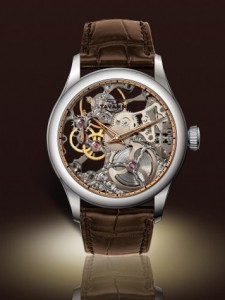 Tavannes Skeleton Silver with Rose Chapter