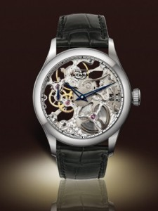 Tavannes Skeleton Silver with Silver Chapter