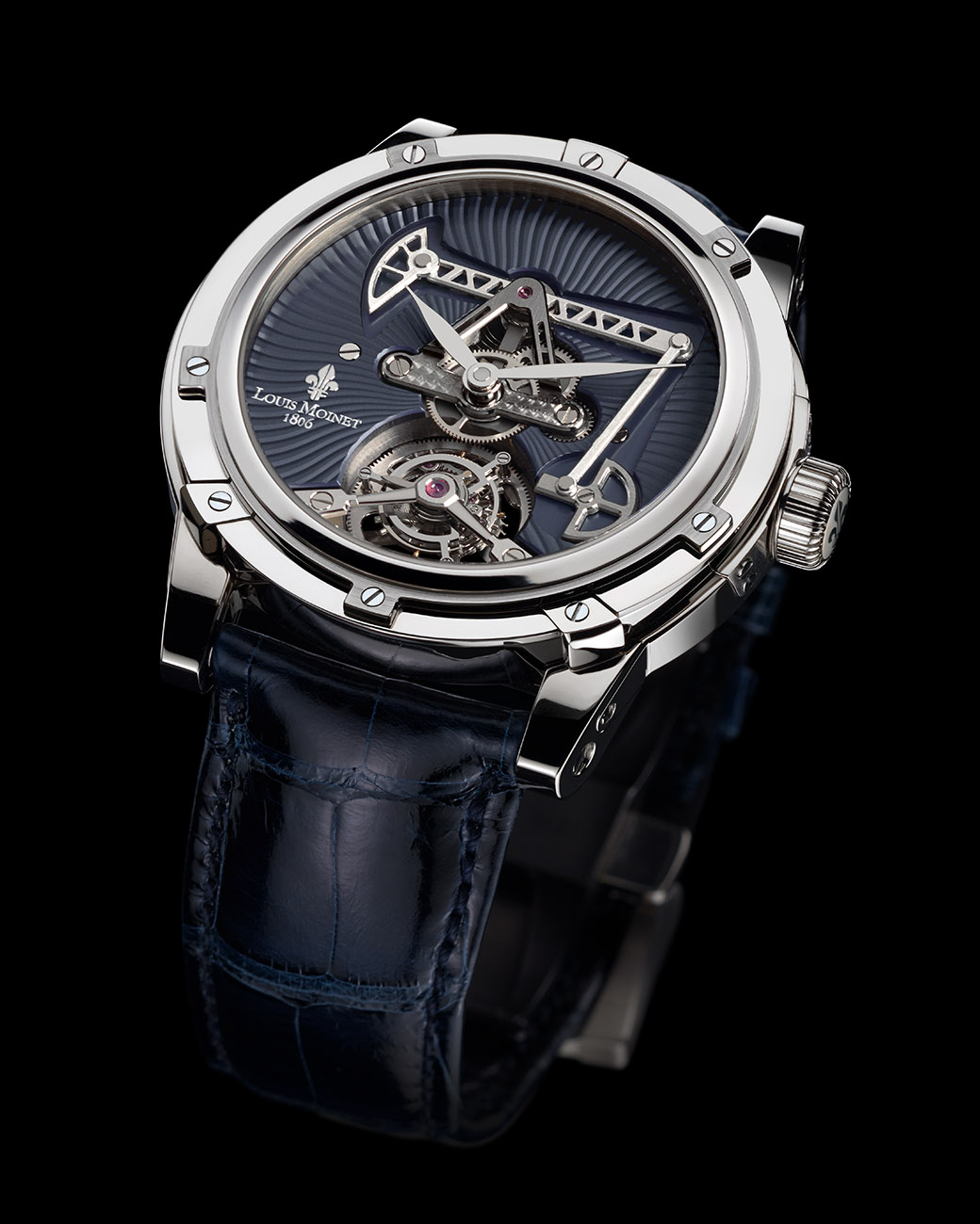 Louis moinet oil derrick watch lm exclusive timepieces for Louis moinet watch