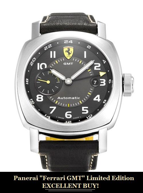 Panerai Ferrari GMT Limited Edition