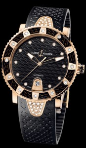 Lady Diver in Rose Gold Diamond Bezel