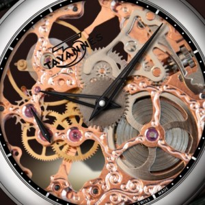 Tavannes Skeleton Movement